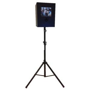Fotobox inkl. Studioblitz und Accessoires